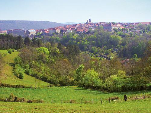 Флавиньи-сюр-Озрен – одна из красивейших деревень Франции