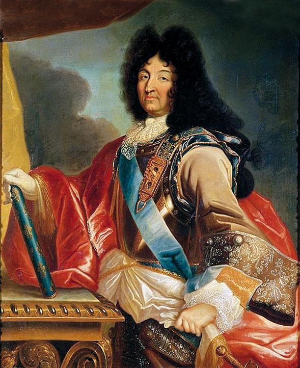 LouisЛюдовик XIV работы Миньяра. Король-солнце любил конфеты с «anisse»…