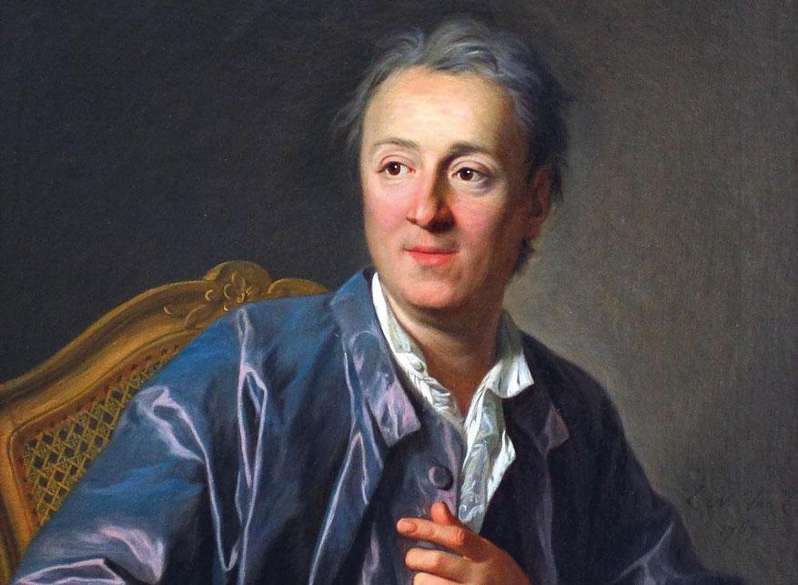 Дени Дидро (1713-1784), писатель и философ эпохи Просвещения.