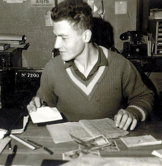 Николя Труба, производитель Anis de Flavigny с 1965 по 1990 год.